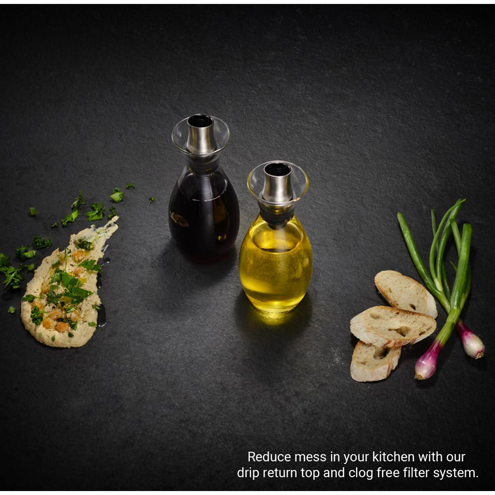 Cole & Mason Flow Select Oil & Vinegar Pourer Gift Set