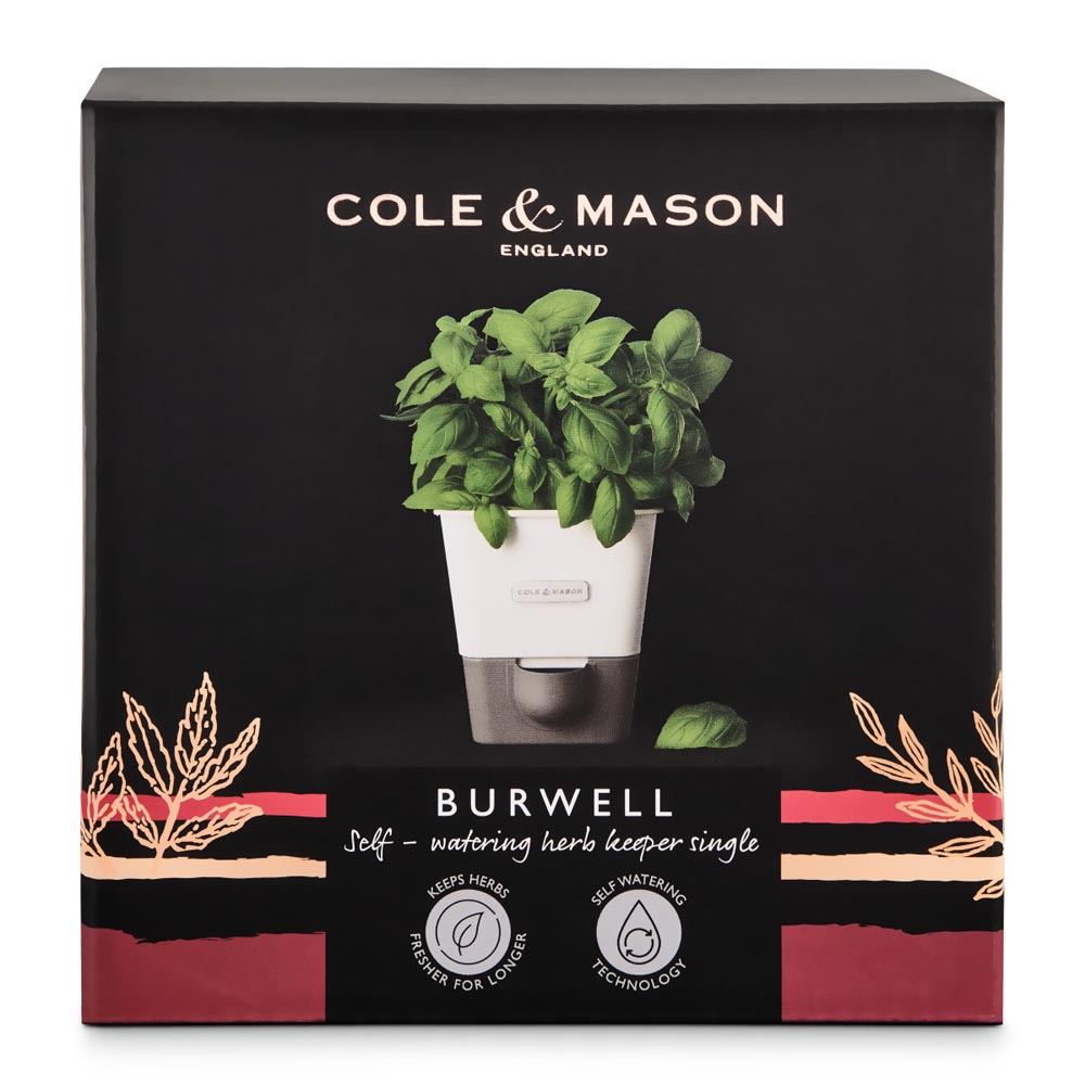 Cole & Mason Self-Water Herb Keeper