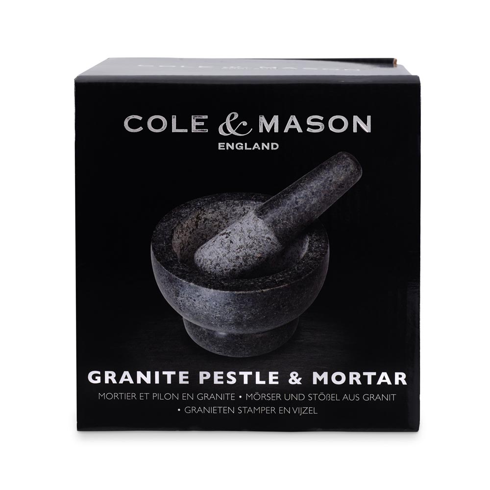 Cole & Mason Mortar & Pestle, Gray