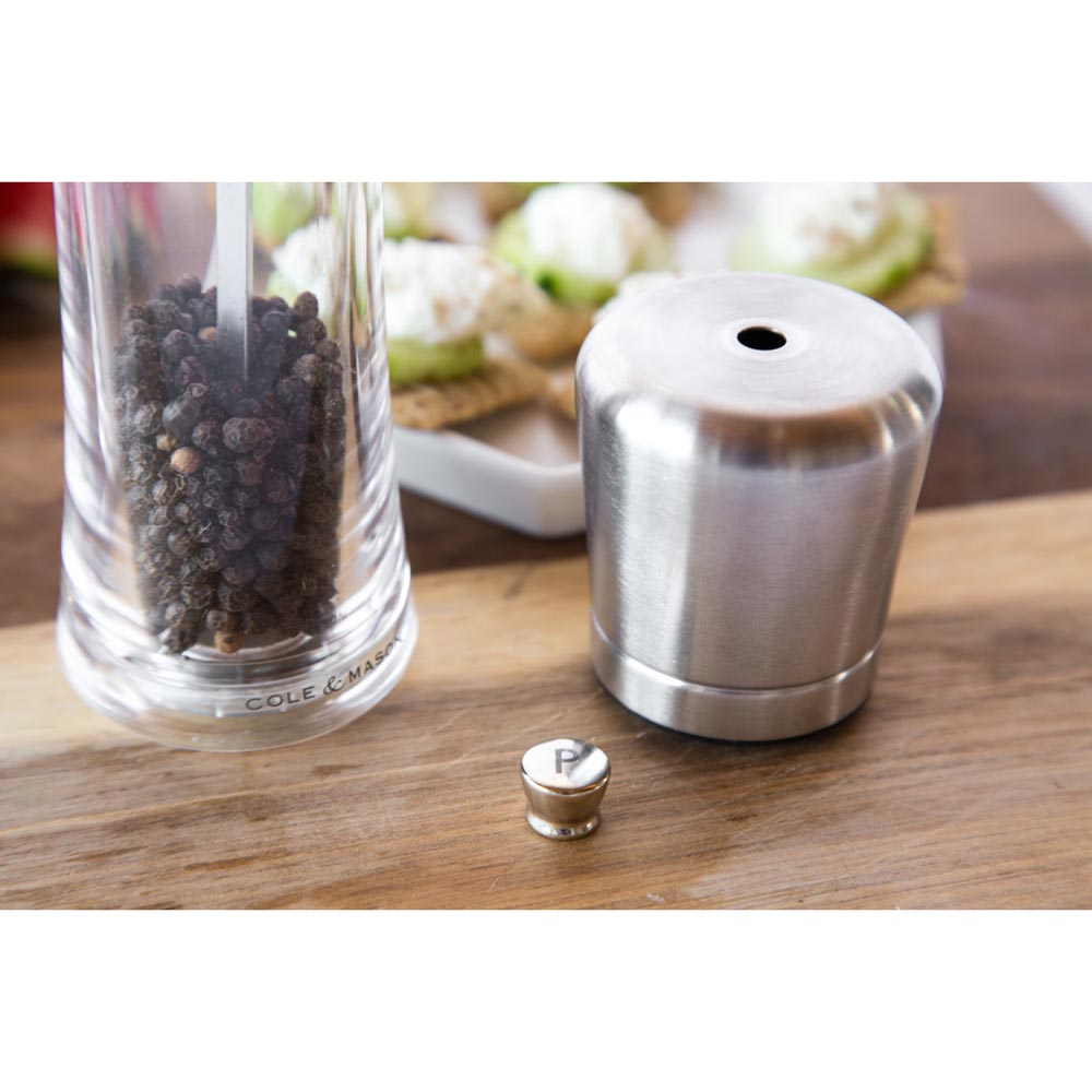 Cole & Mason Gourmet Precision Sandown Pepper Grinder - Acrylic Mill