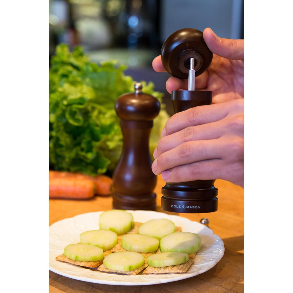 Cole & Mason 6.5 in. Forest Capstan Pepper Mill