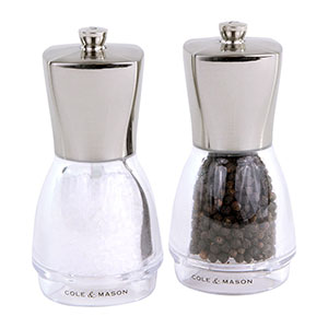 Cole & Mason Salisbury Salt & Pepper Gift Set - Filled - H311706U
