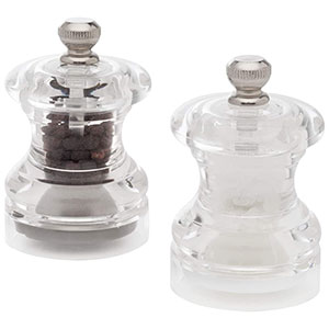 Cole & Mason Button Mini Salt & Pepper Mill Gift Set - HP03760U