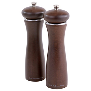 Cole & Mason 8 in. Sherwood Forest Salt & Pepper Mill Gift Set - HS0848PU